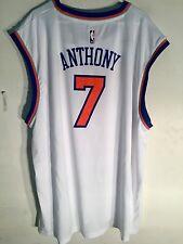Adidas NBA Jersey New York Knicks Carmelo Anthony White sz 3X