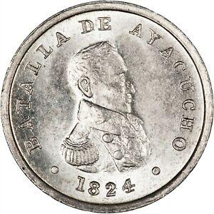 Peru 1924 Centennial Medal Battle of Ayacucho BU
