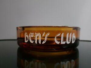 Large Ben's Club Ashtray, Home Bar, Man Cave, Retro Breweriana