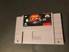 Spider-Man Spiderman (Super Nintendo SNES 1995) Authentic Tested