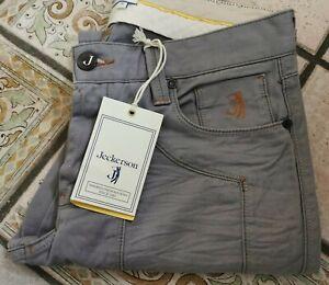 Pantalone uomo JECKERSON,tg.31/45,col.grigio,MADE IN ITALY.NUOVO