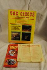 THE CIRCUS Lure and Legend Rare Stories Prose Poetry Fenner 1970 Book