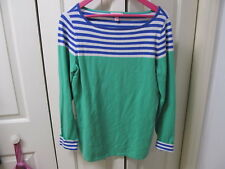 Lilly Pulitzer Long Sleeve Sweater XL Blue Green White Pullover