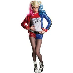 Charades Women's Suicide Squad Harley Quinn Costume Size XS