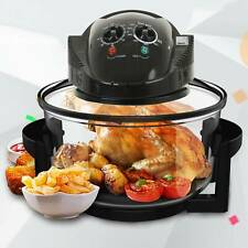 Electric Halogen Air Fryer Low Fat Fast Cook Healthy Oven 12L Capacity 1400W