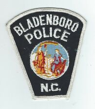 VINTAGE BLADENBORO, NORTH CAROLINA  POLICE (CHEESE CLOTH BACK) patch