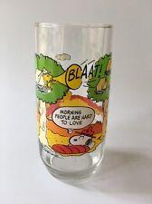 Camp Snoopy Glass McDonalds