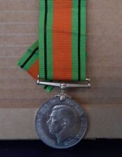 WW2 British Defence Medal Genuine with Ribbon