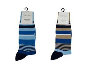 Calvin Klein Men's Luxurious Cotton Dress Socks NEW