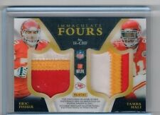 2015 Panini Immaculate FOURS PATCH 7/15 Kansas City Chiefs Davis Conley hali