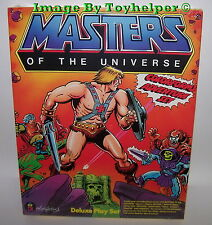 Master of the Universe Deluxe Colorforms Adventure Play Set Factory Sealed Mint