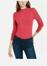 Self Esteem Red Mock-Neck Bodysuit Size Large