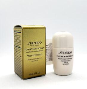 Shiseido Future Solution LX Total Protective Emulsion Broad Spectrum SPF 20 15ml