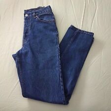 Vtg 80s Levis 501 High waisted mom jeans Button Fly 27 x 31 Slim Fit Classic USA