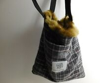 OPENING CEREMONY Faux Fur Bag Tote - Where the Wild Things Are Special Ed 15X14
