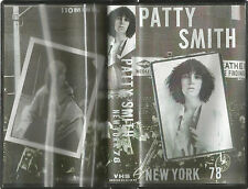 Patti Smith Bootleg Concert VHS from New York Gig in 1978