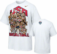 Nike Team USA Basketball 2012 Olympics Roster T-Shirt Men's Small FREE SHIPPING