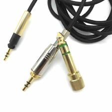 145cm Audio Cable 6.35mm Adapter For Sennheiser HD579 HD598 HD518 Headphones
