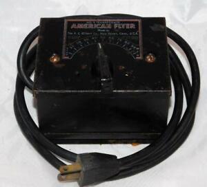 American Flyer #2 transformer 75 watts AC tested& works postwar rough cosmetics