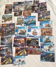 6 Lb Bulk Lot of Assorted Lego Instruction Manuals - LOT, Lots of Star Wars