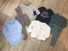 Baby Boys Clothing Bundle, 6-9 Months Including Vertbaudet, M&S & M&Co