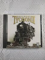 Railroad Tycoon 2 II (PopTop, 1998) Windows 95/98 PC Game