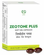 AVN AYURVEDA ZEOTONE PLUS SOFT GEL CAPSULES FREE SHIPPING