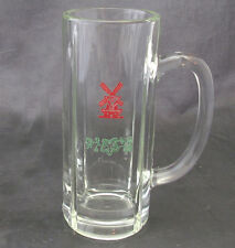 VINTAGE HEINEKEN LAGER PILSNER BEER MUG GLASS WITH WINDMILL LOGO