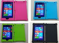 """Silicone Rubber Gel Skin Case Cover for 8""""  inch Lenovo Miix2"""