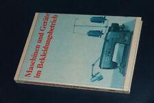 Maschinen und Geräte im Bekleidungsbetrieb Nähmaschine maschinelles Nähen 1989