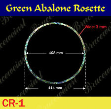 Free Shipping, Green Abalone Rosette / inside= 108mm, W=3 mm (GCR1-5)