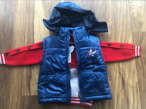 BNWT 2-3 Years 24M Boys Jumper Cardigan Vest bundle clothes Body Warmer A5