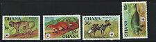 Ghana SC621-624 Wild Animals MNH