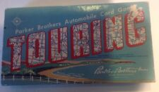 Vtg Old 50s 1958 Touring Automobile Car Travel Card Game Parker Brothers