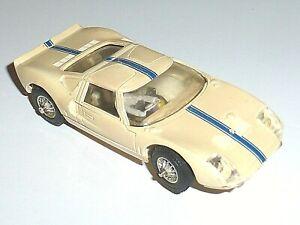 Voiture Circuit JOUEF France FORD GT 40 Le Mans 1965 1/40 VINTAGE Slot Car