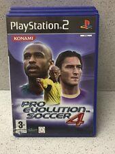 JEUX PS2 PRO EVOLUTION SOCCER 4  SANS NOTICE PLAYSTATION