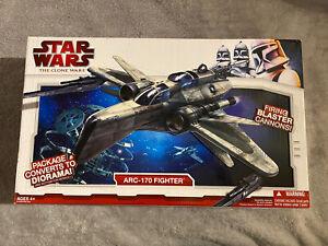Star Wars The Clone Wars ARC 170 Fighter