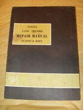 Toyota Land Cruiser Repair Manual No. 98041 - Printed In Japan - As Photo's