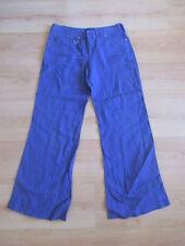 Pantalon en lin Armani Violet Taille 36 à - 75%