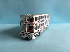 Wiking Vintage MAN Bussing Bus Berlin Zeitung 1/87 Scale Used Condition
