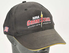 NRA Crime Strikes Associate Producer Hat Cap TV Show National Rifle Adjust Size