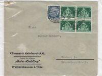 Germany 1938 Commercial Cover To Hamburg Postal History J2543