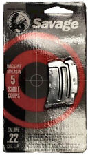 Savage 90005 Factory Mag for MKII 22 LR 5 rd Blued Finish