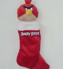 "20""angry birds Christmas stocking red entertainment rovio holiday"
