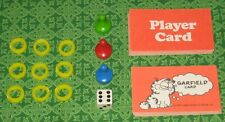1981 Garfield Board Game Replacement Parts