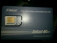 telcel sim card no plan