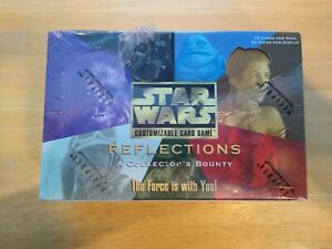 STAR WARS CCG REFLECTIONS BOOSTER BOX FACTORY SEALED