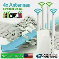 WiFi Repeater Signal Booster Dual Band AP 1200Mbps Wireless AC Extender Router
