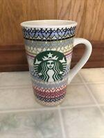 Starbucks 16 oz tall All Over Heart LOVE Logo Coffee Mug