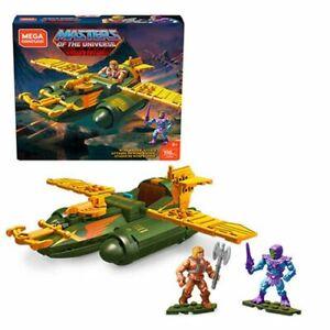 MOTU Mega Construx - Wind Raider Attack - Masters of the Universe 198 Pieces!